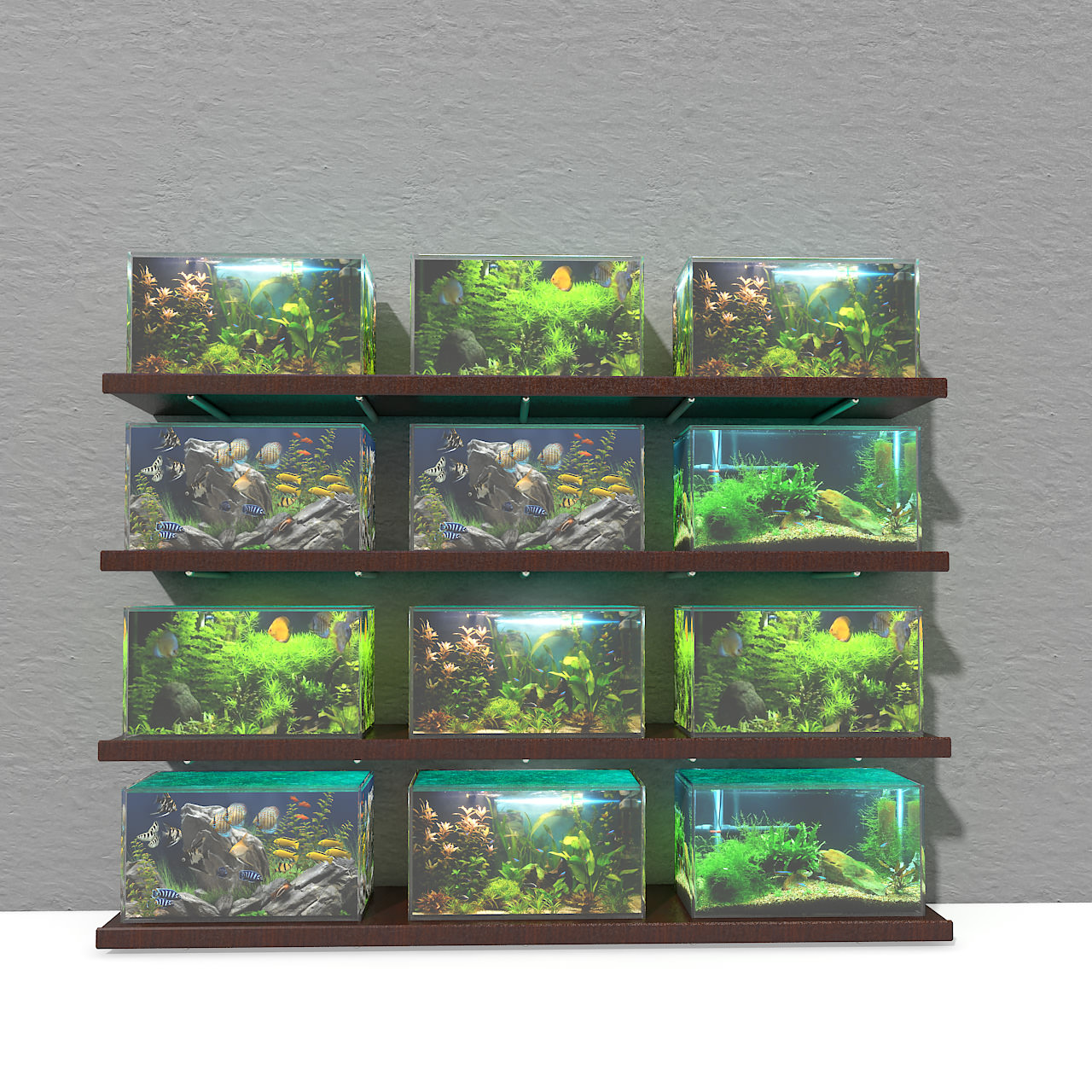 Model aquarium fish tanks aquariums textures joy for Fish tank net