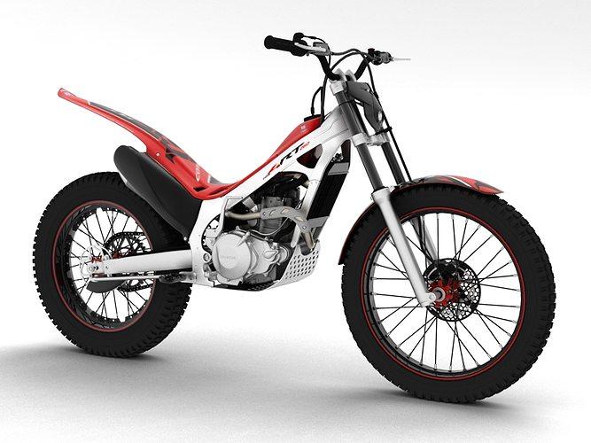 montesa cota 4rt 260 2014 3d model max obj 3ds fbx c4d dxf 1