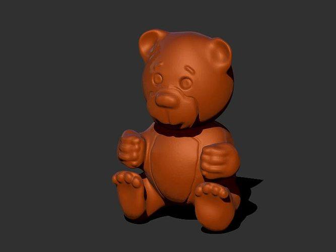 3d print model teddy bear