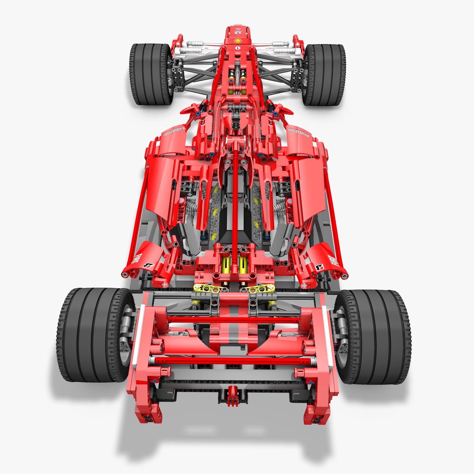 Lego 8674 F1 Racers 3D Model .obj .fbx .c4d - CGTrader.com