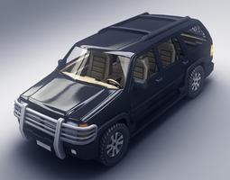 SUV 3 3D Model