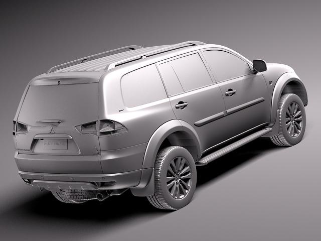 All New Pajero Sport Dakar 2014.html | Autos Post