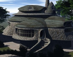 Grid_neo_home_fantasy_house_3d_model_obj_f794b80b-fd6b-4d72-ad12-6f42558024ce