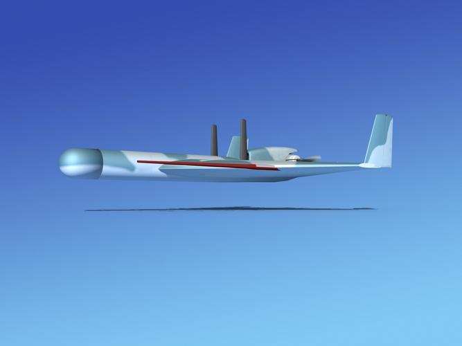 Harpy 1 UAV V043D model