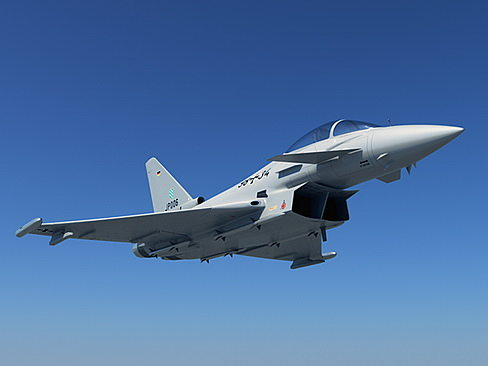 eurofighter typhoon 3d model max obj mtl 3ds c4d lwo lw lws ma mb 1