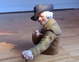 Joseph Ducreux 3D Model