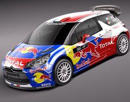 Citroen DS3 WRC 3D Model