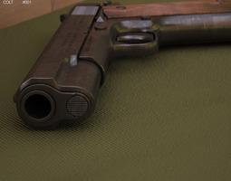 3d model colt m1911