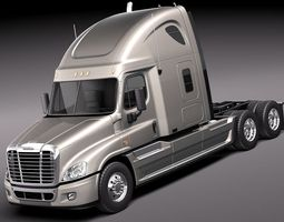 Freightliner Cascadia 2011 3D Model 3D Model