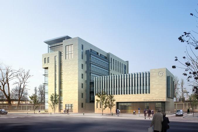 Modern Business Center3D model