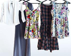 3D Dresses set 01