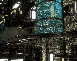 Grid_sci-fi_bridge_3d_model_3ds_fbx_dxf_obj_blend_stl_92171016-53b5-4389-9598-46bde74822ff