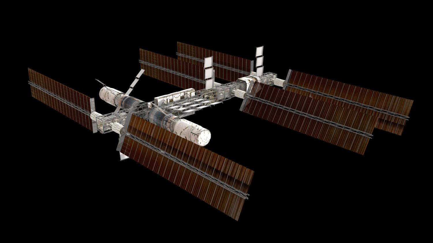 space station 3d models - photo #1