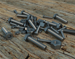 Nuts and Bolts 56839 3D