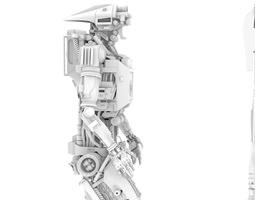 Hightop Droid 3D model