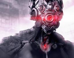 Grid_alien_cyborg_3d_model_obj_53a3bfea-4496-469c-afda-c6719fc80461