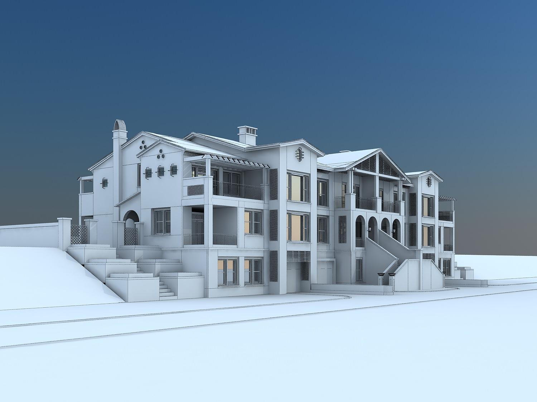 Holiday Villas | 3D model