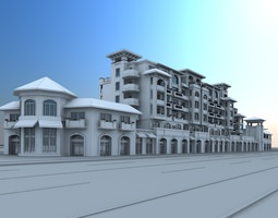 3D model Holiday homes