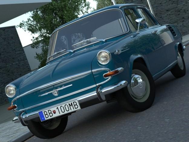 Skoda 1000MB 1965