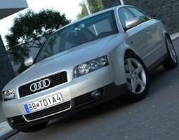 Audi A4 2003 3D