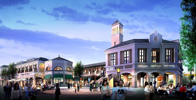 Imperial Shopping Center3D model
