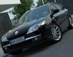 Renault Laguna Grandtour 2008 3D Model