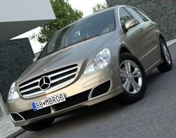 Mercedes Benz R Class 2007 3D Model