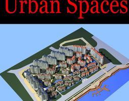 urban designed apartment 3d model