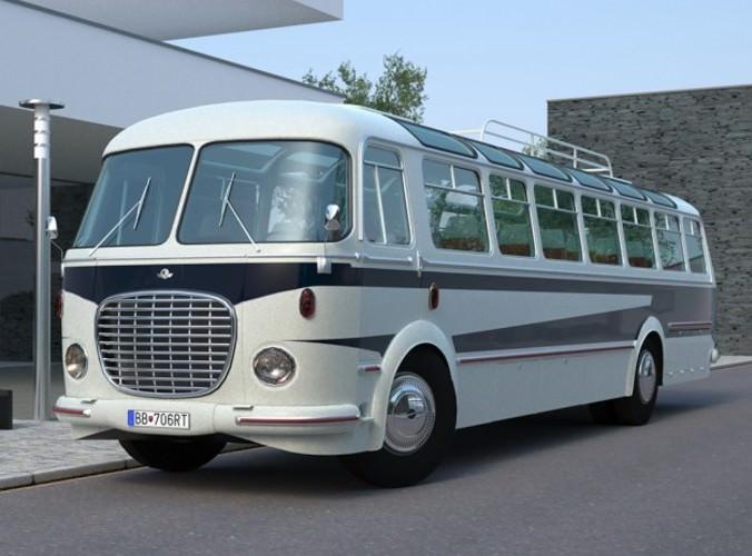 Skoda 706 RTO Lux3D model