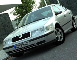 Skoda Octavia 1997 3D model