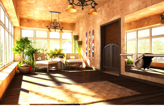 Eminent Space for Relaxing3D model