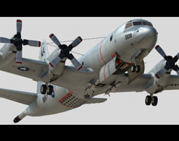 3D P-3C US Navy with High and Low scheme