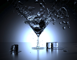Grid_glass_and_water_and_ice_on_black_background_3d_model_blend_3bc9b3e7-1f69-41f9-accc-93228ebbd96a