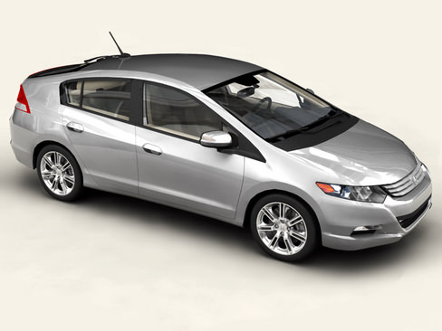 Honda Insight 20103D model