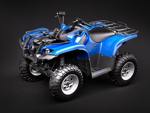 Yamaha Grizzly 700FI 2009