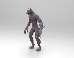 Grid_werewolf_3d_model_obj_4febd644-58c1-46af-b266-130fb6a228ca