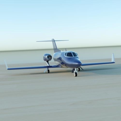 Honda Private Jet Interior: Honda Jet Private Aircraft Restyled 3D Model .fbx .lwo .lw