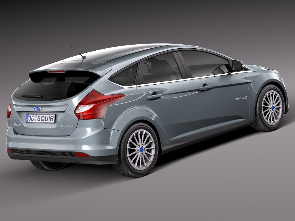 ford focus electric 2014 3d model max obj 3ds fbx c4d lwo lw. Cars Review. Best American Auto & Cars Review
