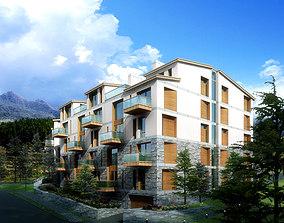 Multi-storied House Design 3D
