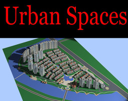 posh urban city design 3d