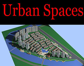 Posh Urban City Design 3D