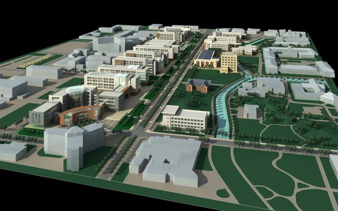 3d architectural city design - photo #13