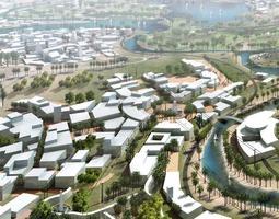 3D model Urban Designed Exquisite Cityscape