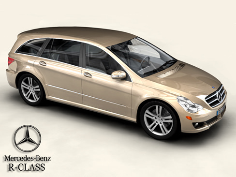 Mercedes R Class3D model