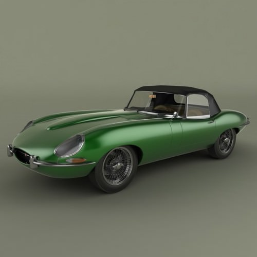 Price Of Jaguar Convertible: All-3dmodels.com-Sharing 3D Models Flawlessy Through All