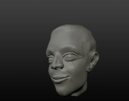 3D print model Man Head