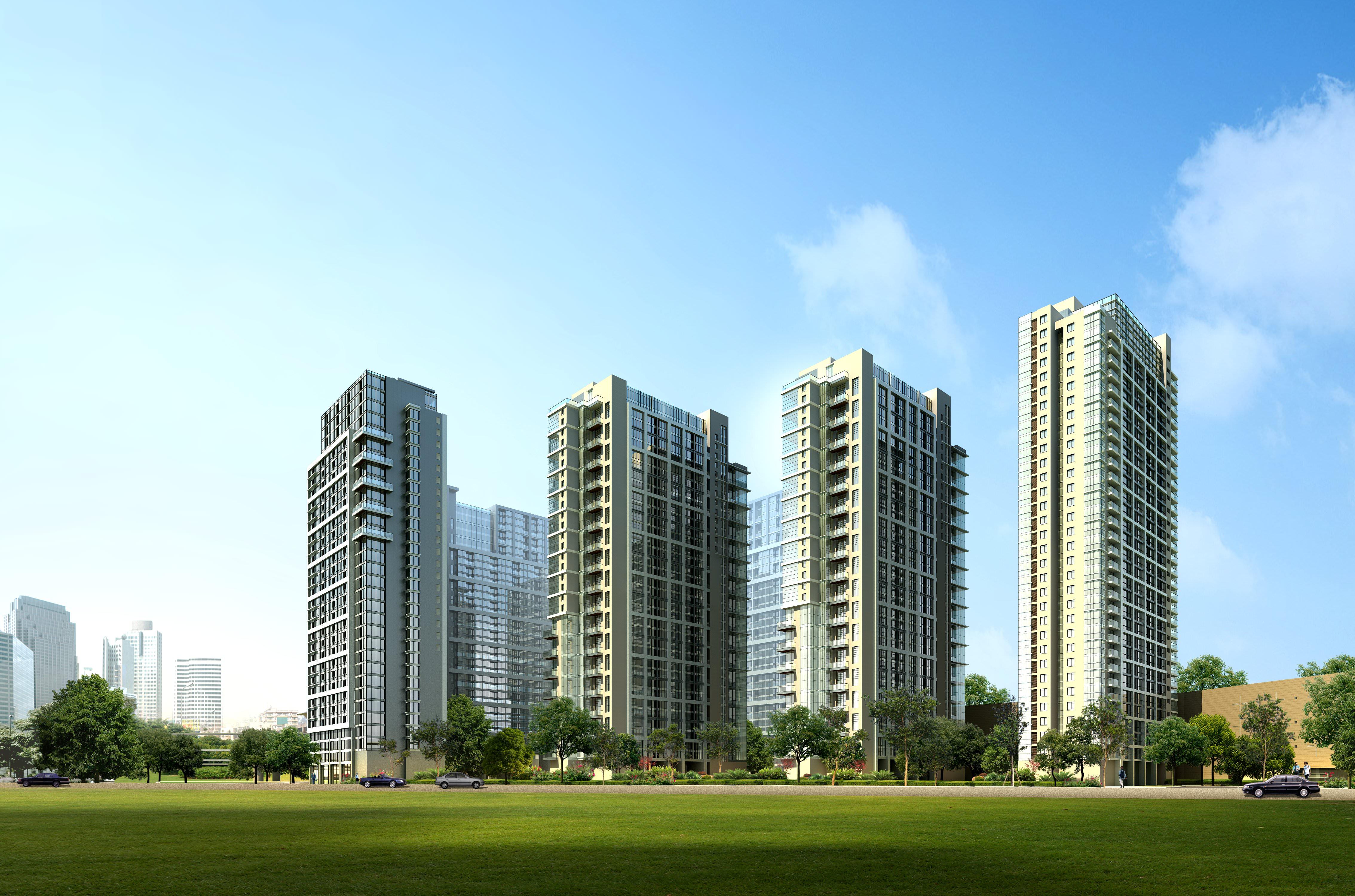 3d building 860 3d model max for 3d max building