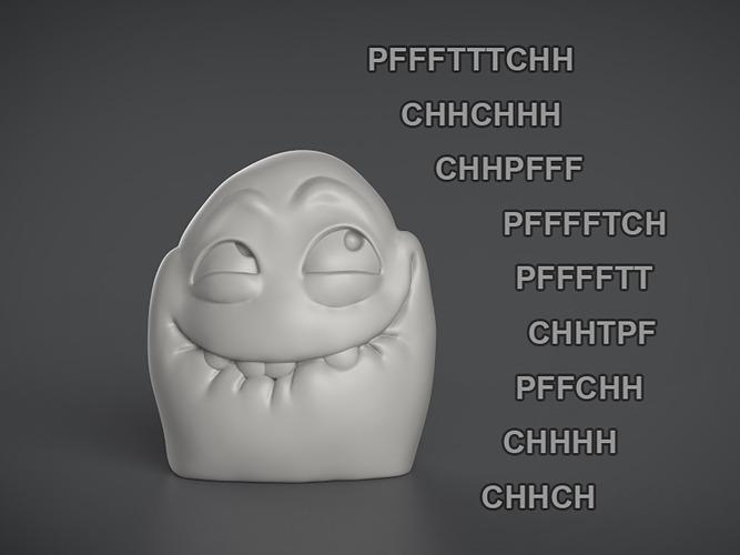 Rage Comic Figure - PFFFTTTCH 3D print model