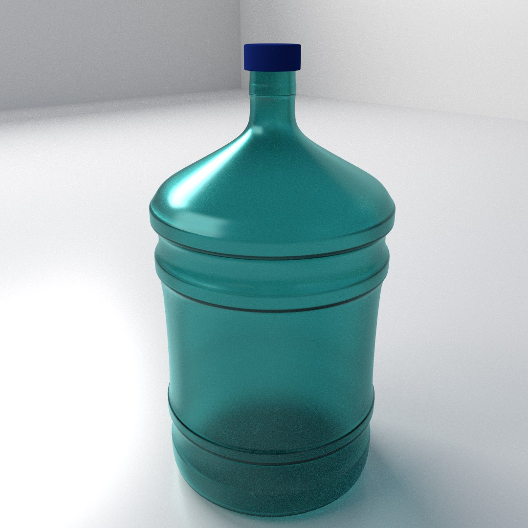 how to clean water dispenser bottle