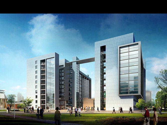 3d building 539 3d model max 1